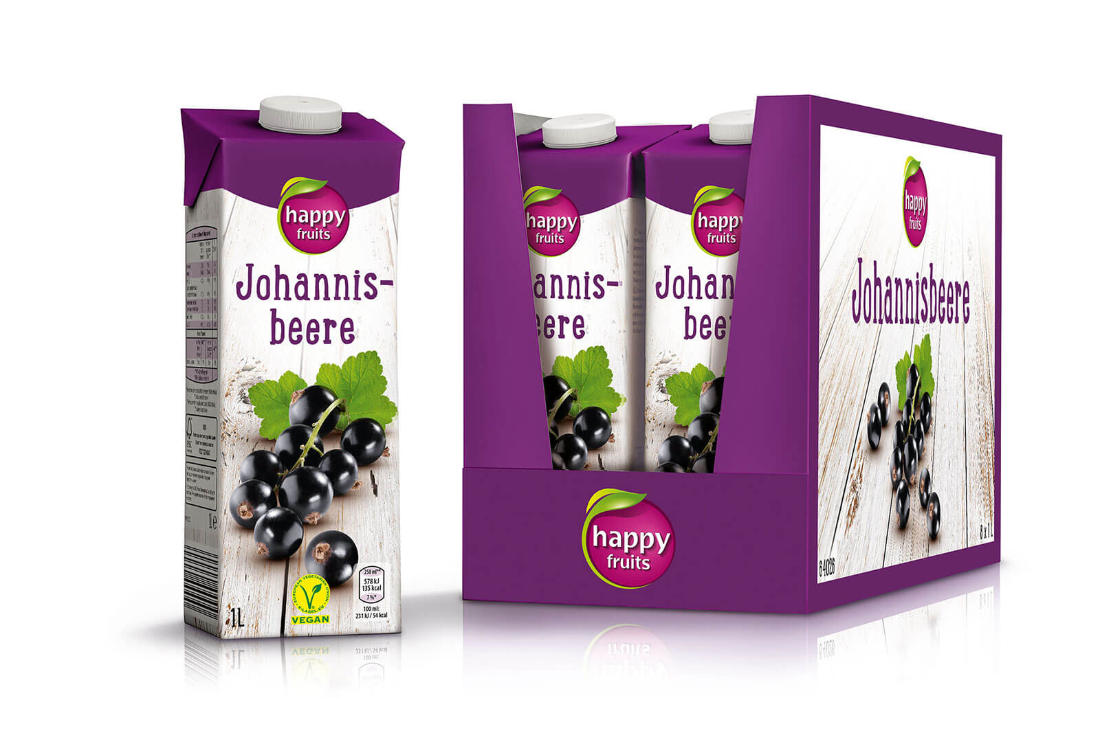 hofer saefte happy fruits tray johannisbeere design packaging rubicon