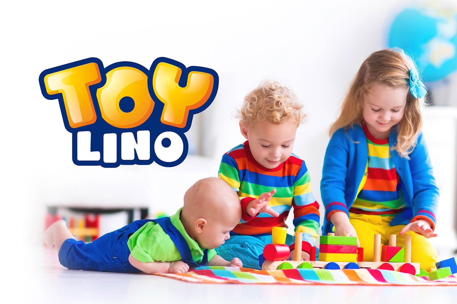 hofer toylino spielzeug imagebild kinder spielend design packaging rubicon